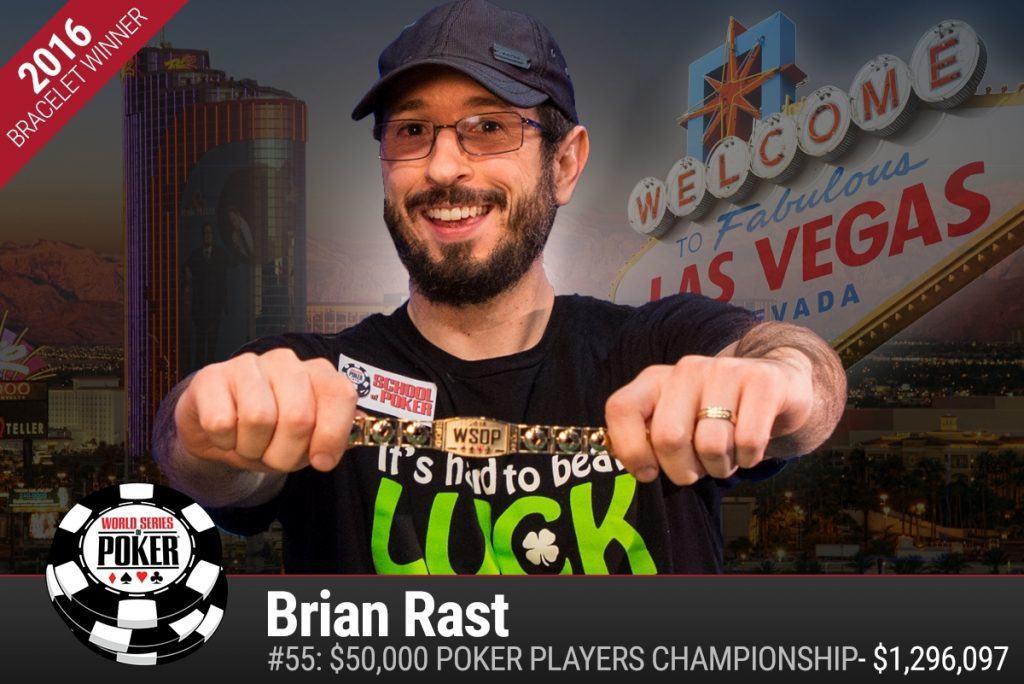 Brian Rast WSOP 2016