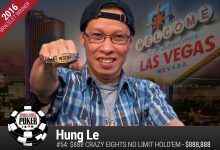 2016 World Series of Poker Daily Update: Salon Owner Wins Crazy Eights, Bonomo Out Front in PPC