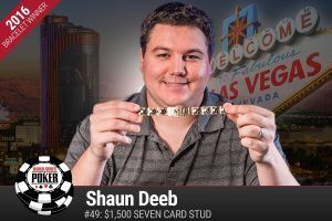 Shaun Deeb WSOP 2016