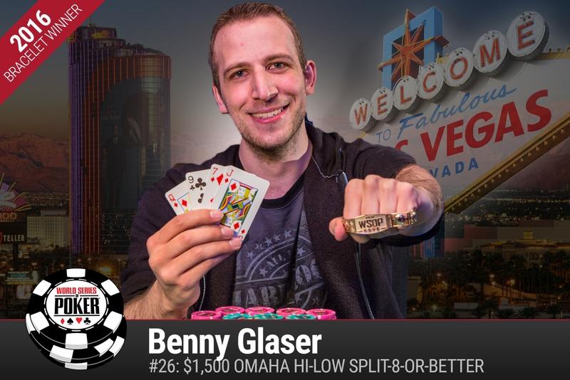 Benny Glaser 2016 WSOP.