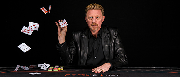 Boris Becker High Roller for One Drop.