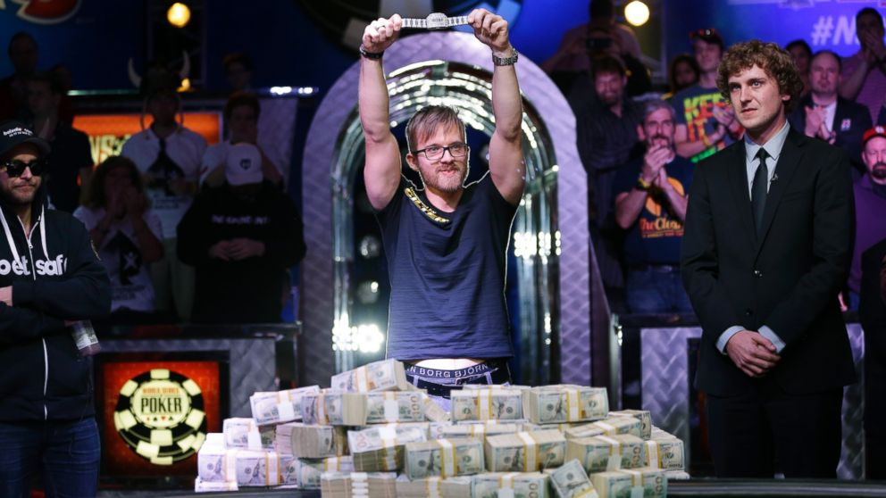 Martin Jacobson $10 million WSOP prize.