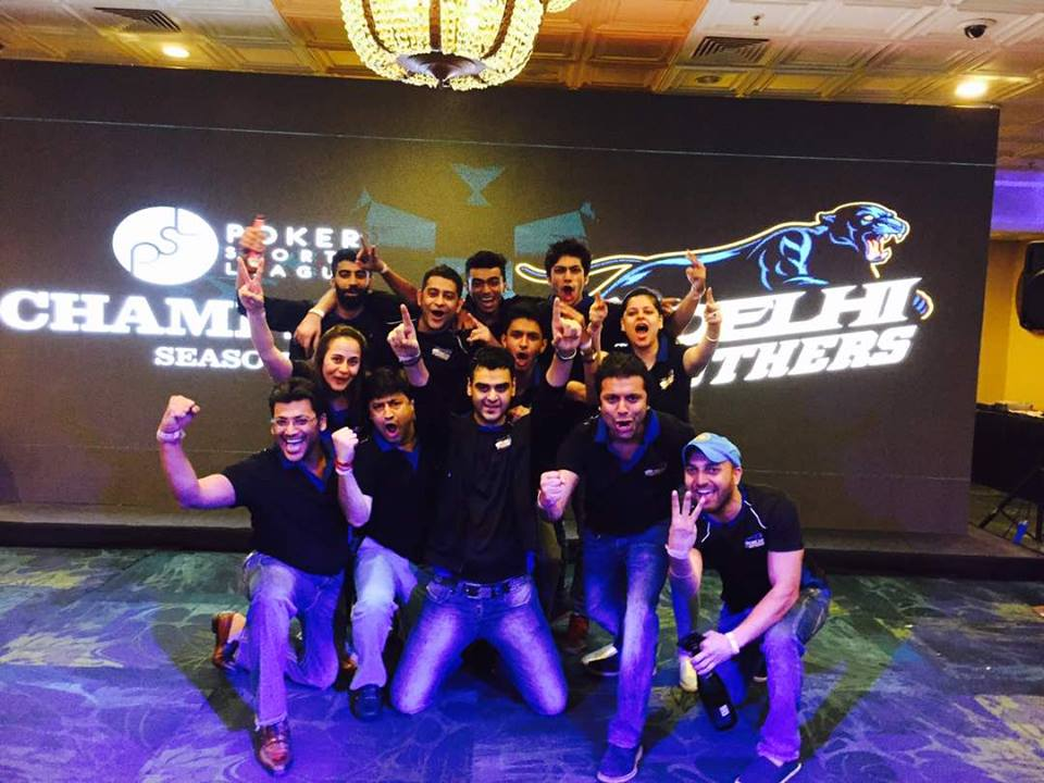Delhi Panthers win Poker Sports League.