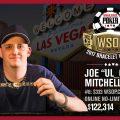 Joseph Mitchell WSOP online winner.