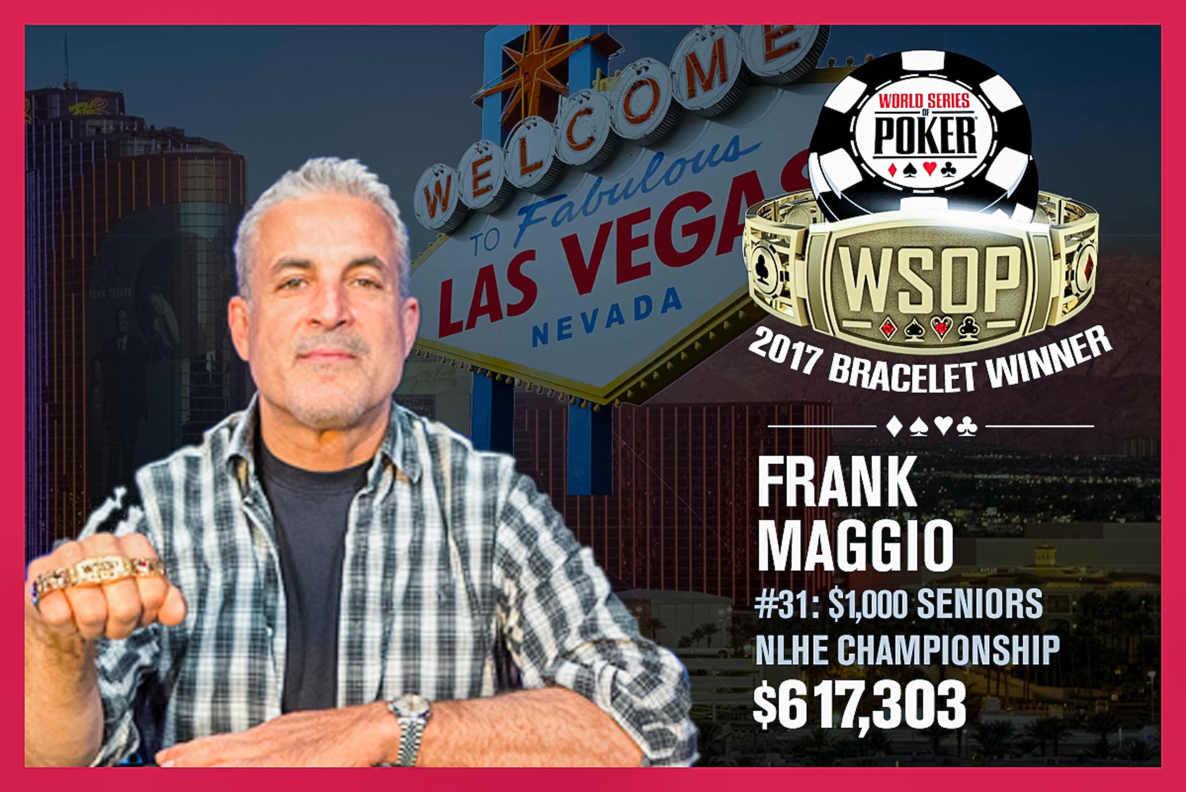 Frank Maggio WSOP.