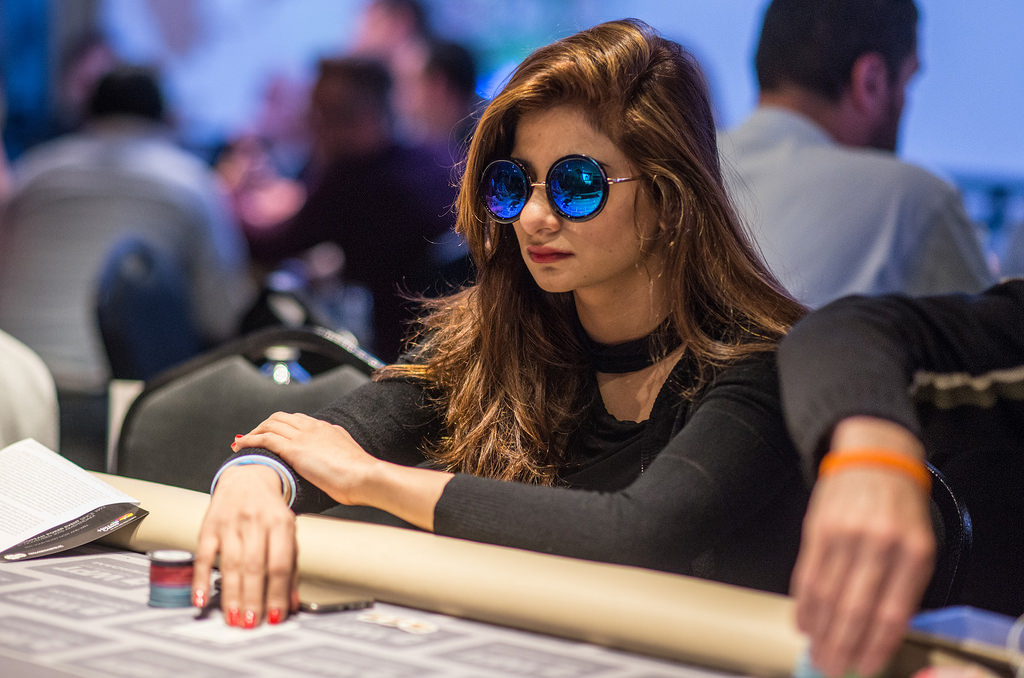 Muskan Sethi poker.