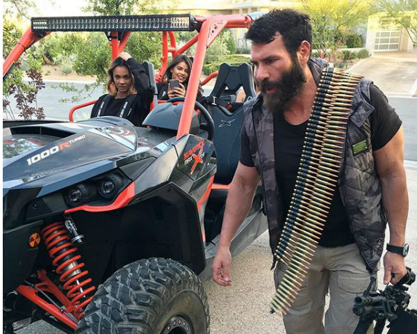 Dan Bilzerian Vegas shooting video.