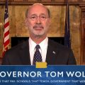 Governor Tom Wolf online poker.