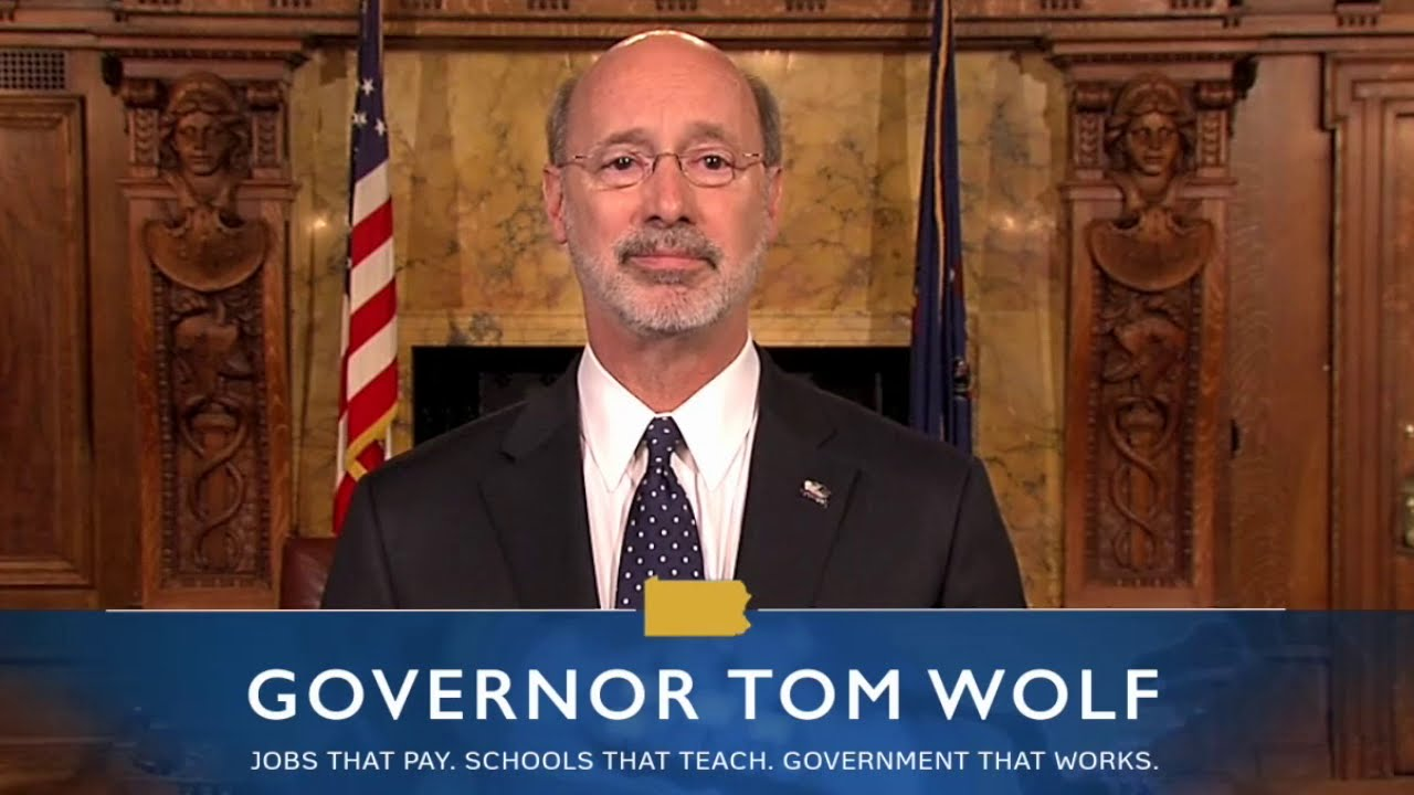 Governor Tom Wolf online poker.