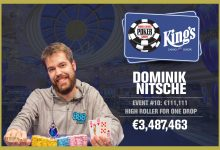 Dominik Nitsche Banks Record Win in WSOPE's High Roller for One Drop