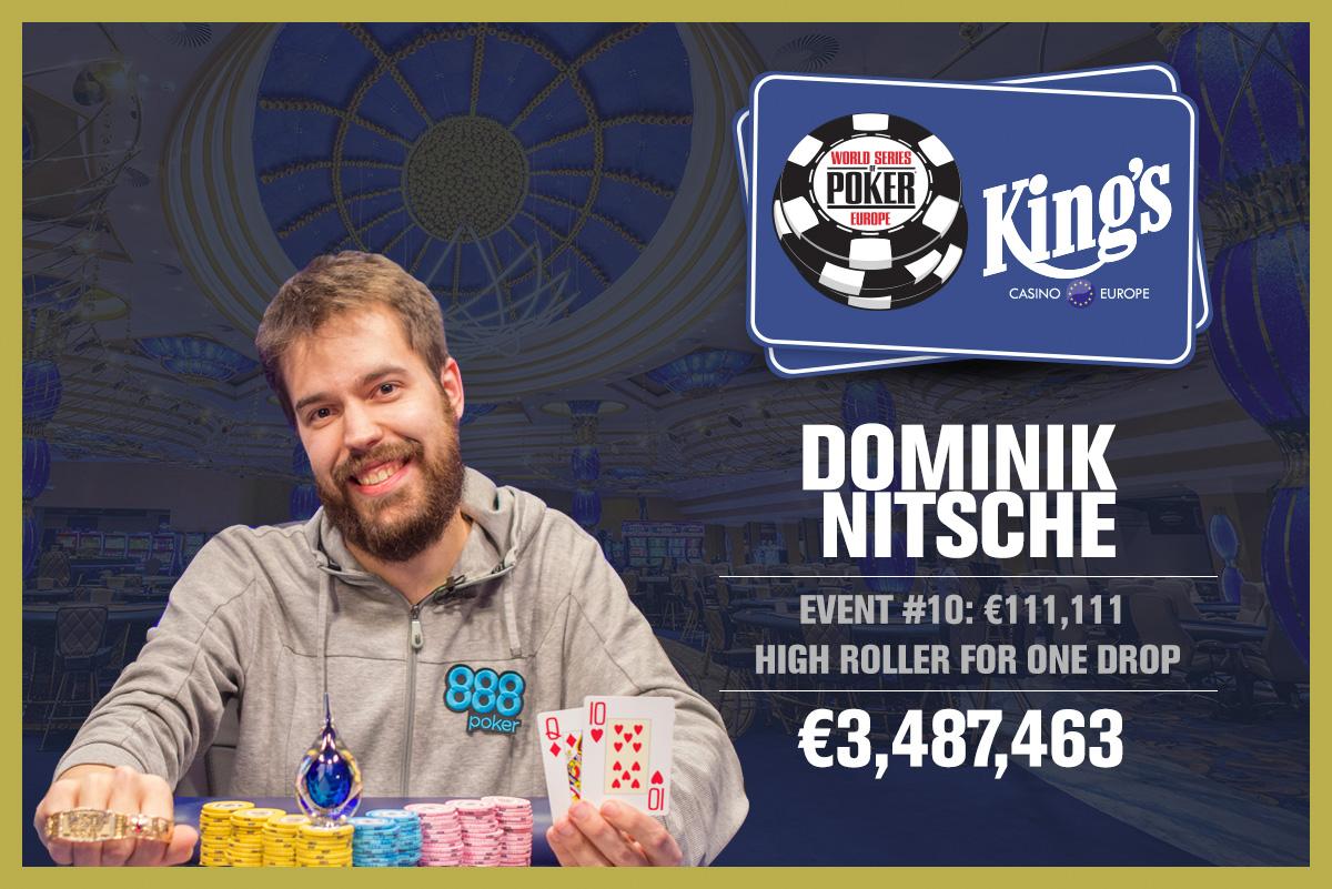 Dominik Nitsche WSOPE.