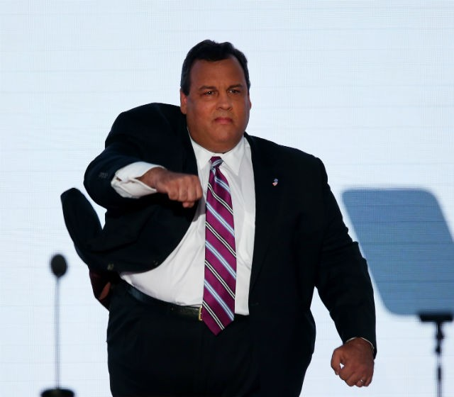 Chris Christie Online Poker