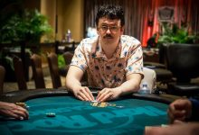 partypoker Executives Celebrate the Signing of Isaac Haxton
