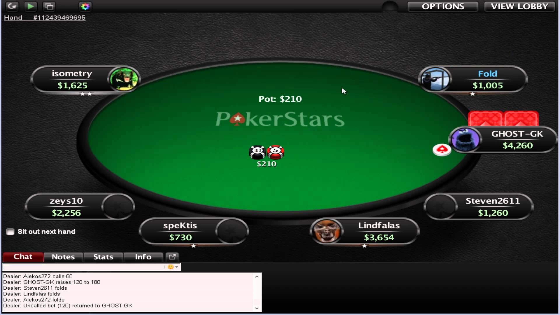 PokerStars rake increase.