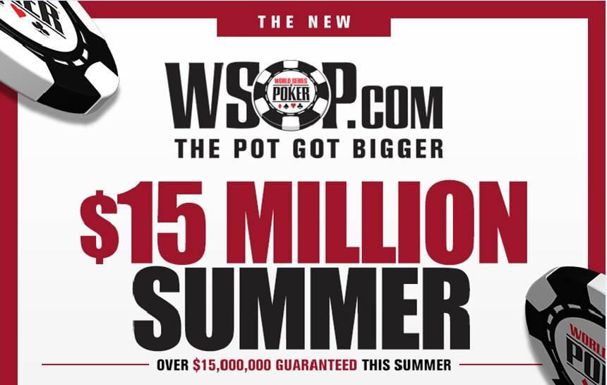 WSOP.com $15 million summer.