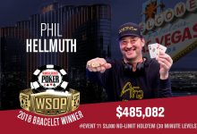 Phil Hellmuth Does It Again with Bracelet #15