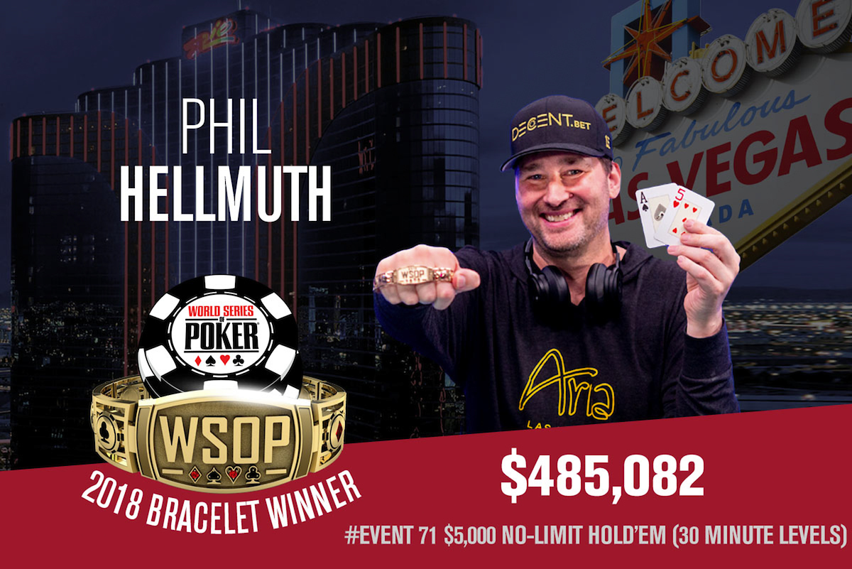 Phil Hellmuth WSOP win.
