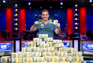 Bonomo's Heater Continues with WSOP Big One for One Drop Win