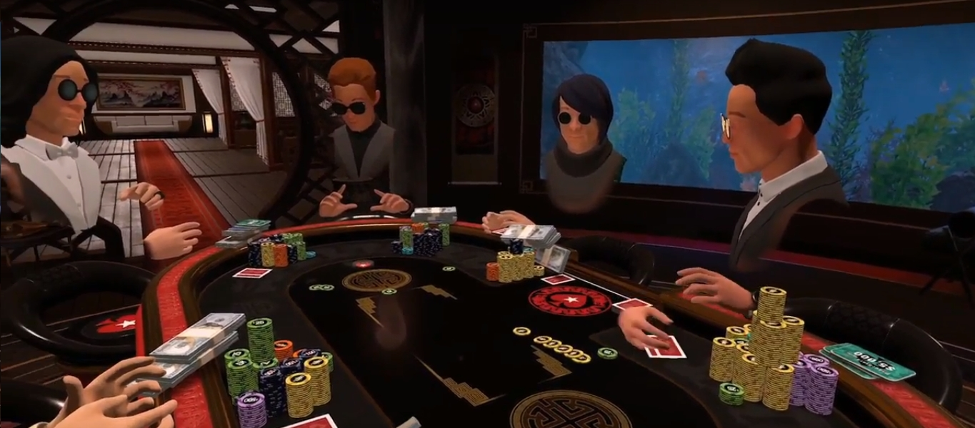 VR poker PokerStars