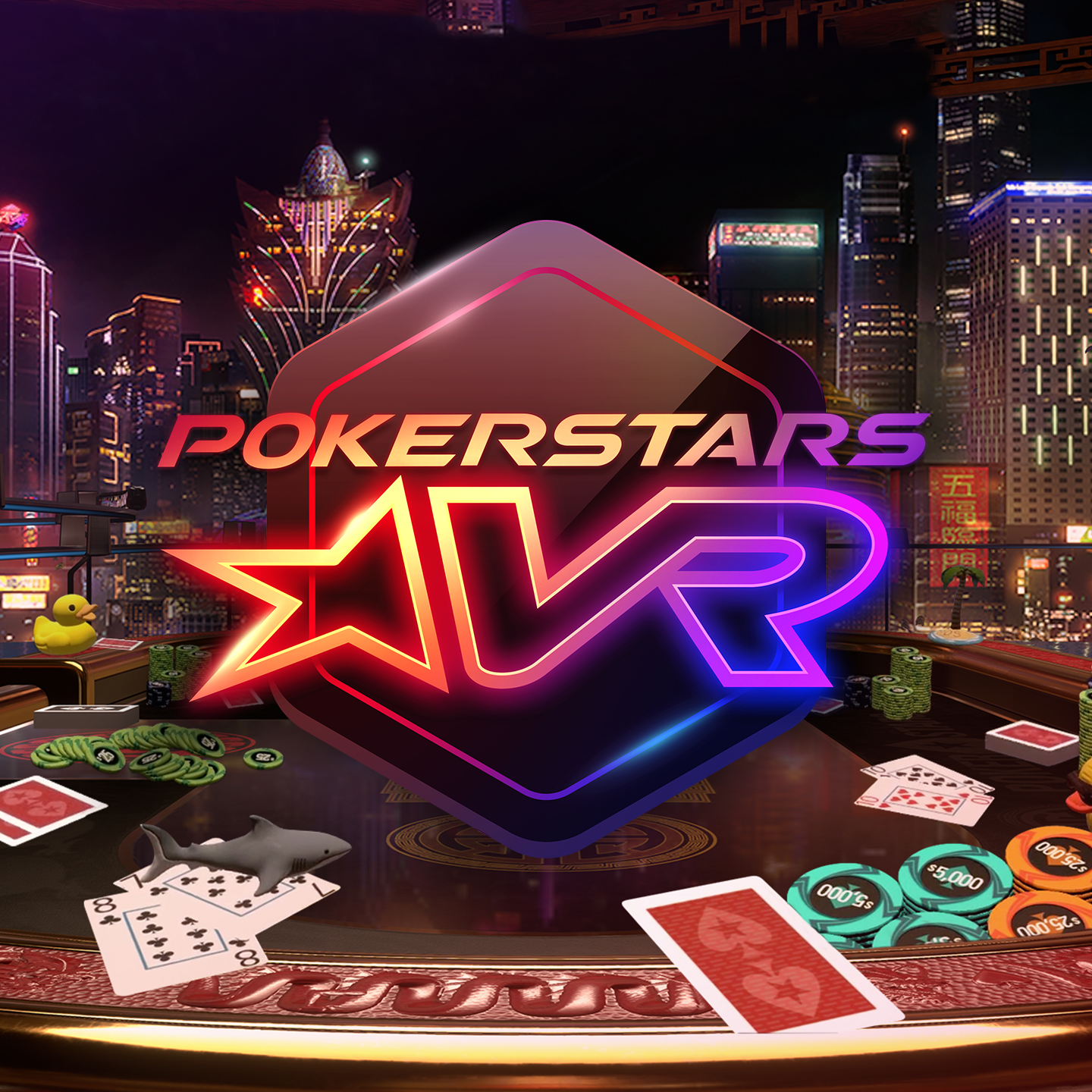 PokerStars Fusion and VR to Create Online Poker 2.0