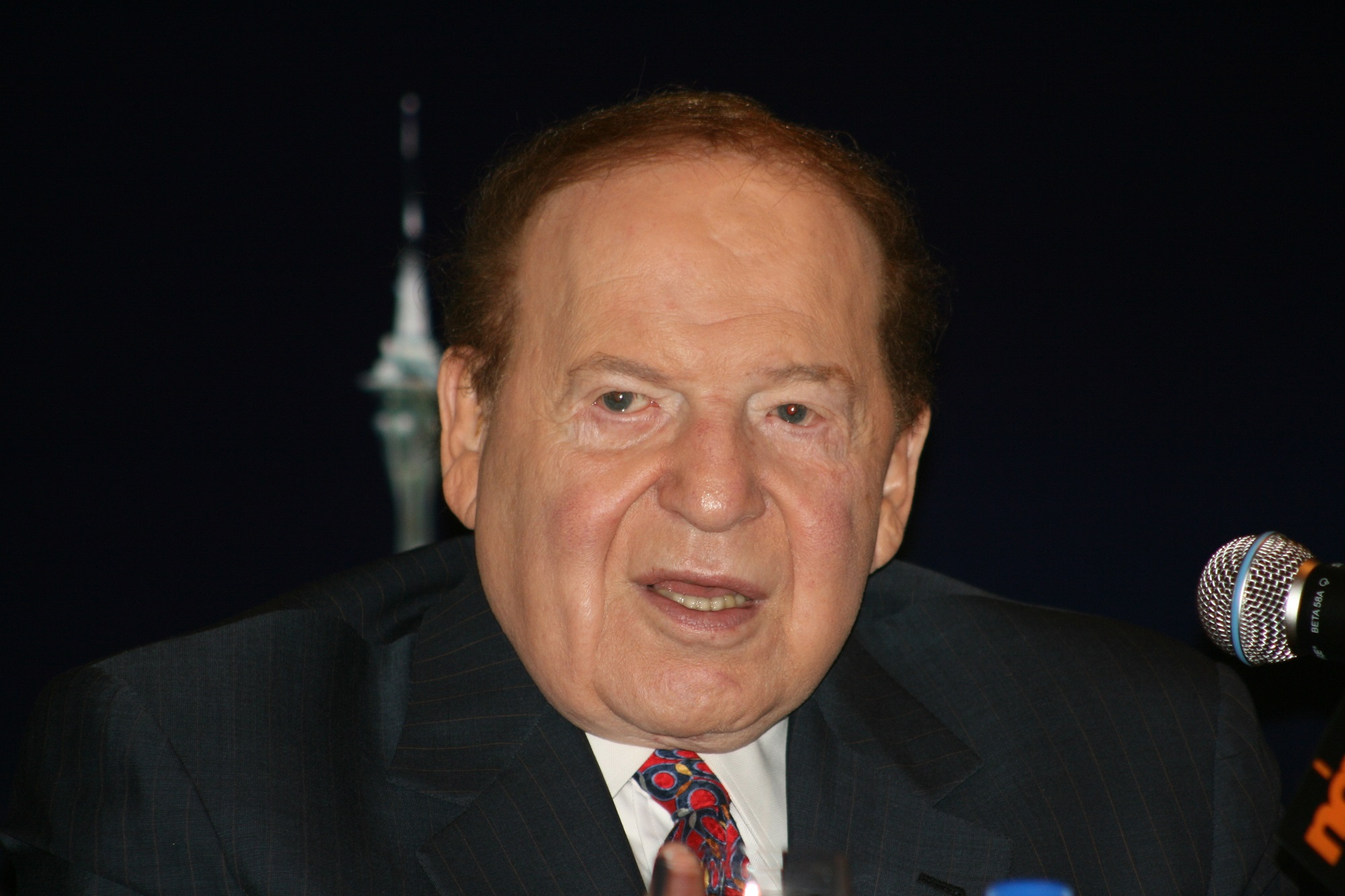 US online gaming opponent Sheldon Adelson