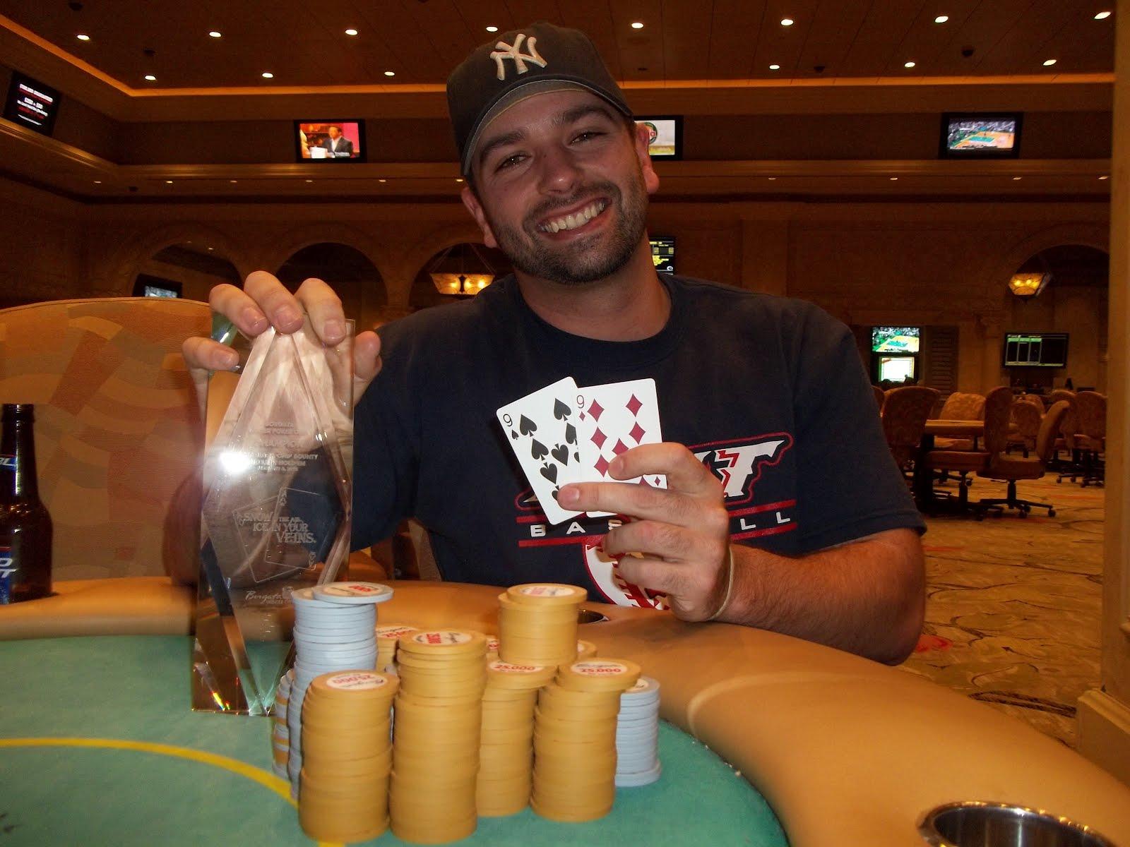 Dan Lupo WSOP online winner