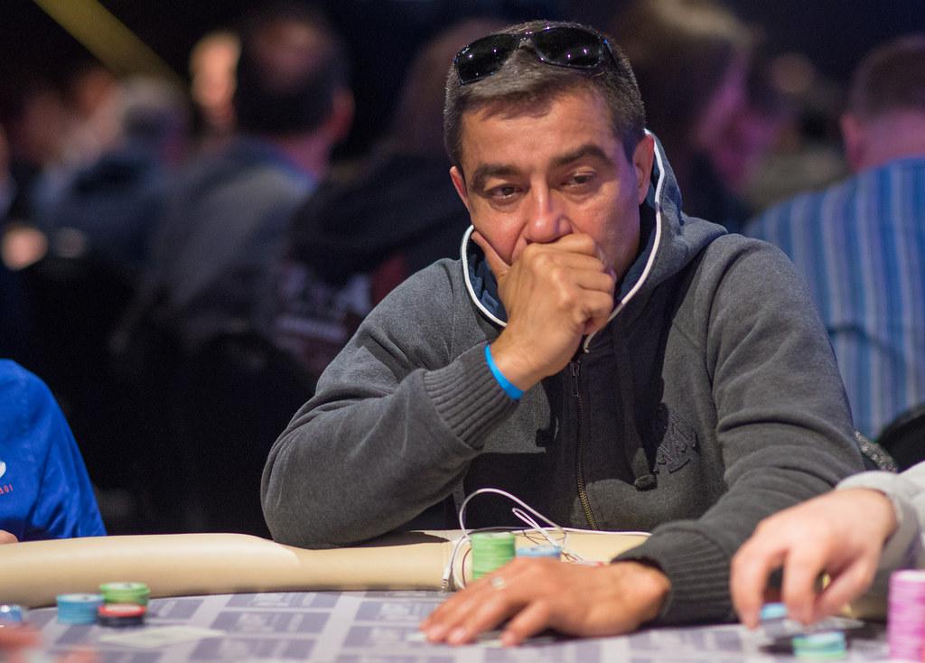 WSOP Main Event Hossein Ensan