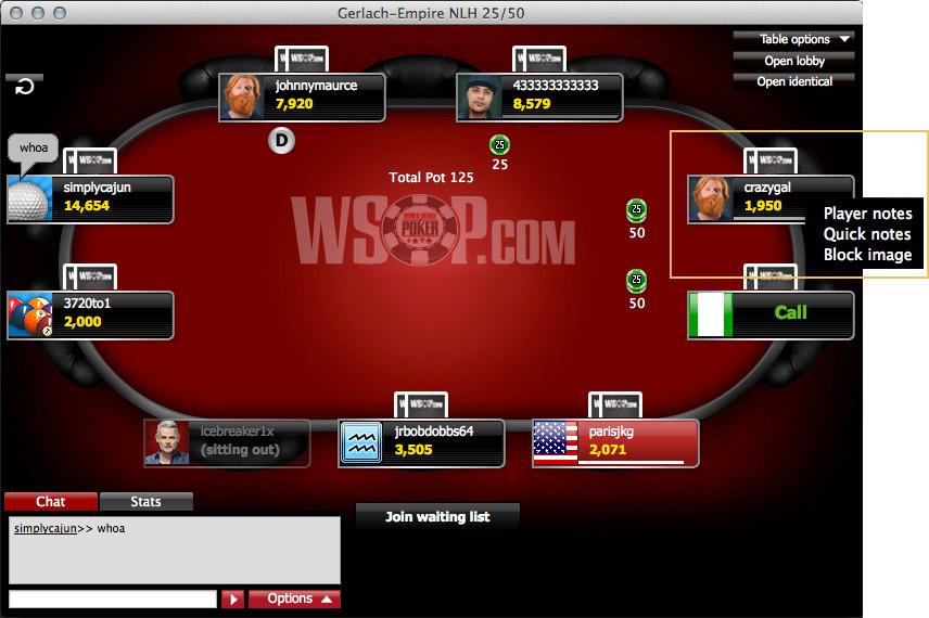 WSOP.com glitch