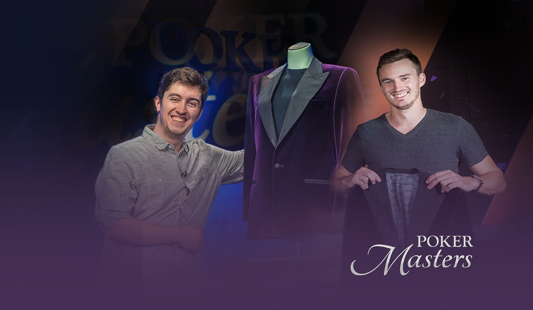 Poker Masters Purple Jacket