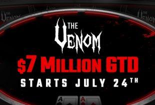 Americas Cardroom Shows Its Bite with $7 Million Venom MTT