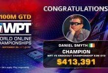WPT World Online Championships Result: Daniel Smyth Turns $33 into $428,391