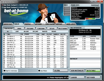 Download Bet at Home Poker