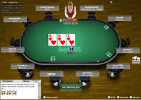 Bet365 Poker Table View