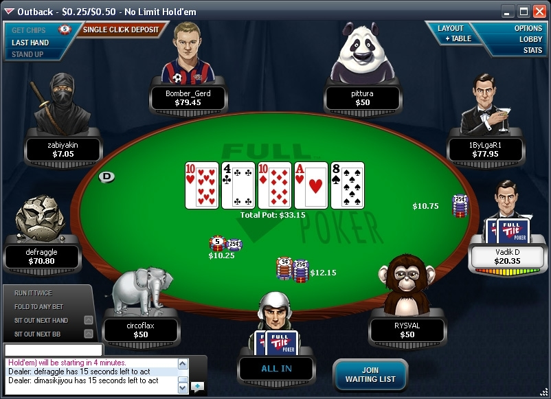 full tilt poker for macbook pro