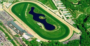 Online poker revenues were up for Delaware in March, part of an overall increase in the state's Internet gambling take. The state's three racinos benefitted, including Delaware Park, shown here. img src: hubpages.com
