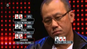 Phil Ivey and Andrew Robl spent a combined $2.5 million on bail money for his poker buddy Paul Phua (pictured here), but Phua remains in ICE custody with his son Darren in Las Vegas.