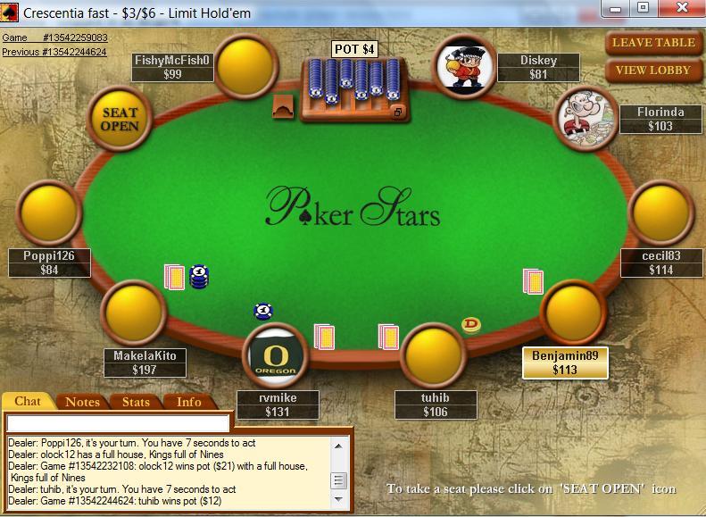 PokerStars New Jersey tournament schedule