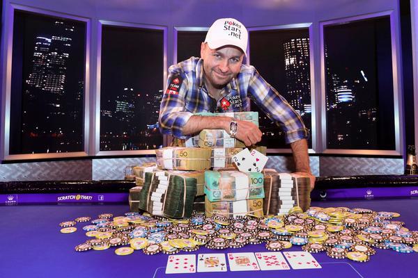 WSOP APAC 2013 winner Daniel Negreanu