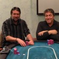 William Davis and John Newmerzhycky California poker players