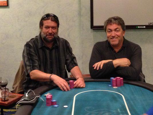 William Davis and John Newmerzhycky California poker players
