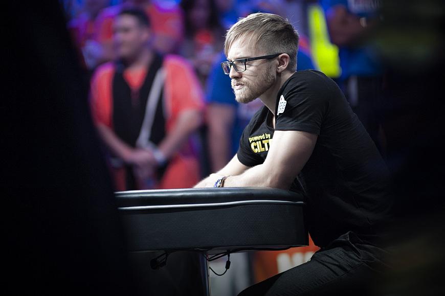 WSOP Main Event 2014 winner Martin Jacobson