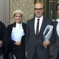 Nicholas Polias and legal team