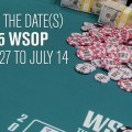 World Series of Poker 2015 new events