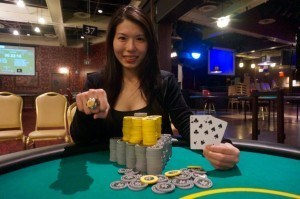 Michelle Chin WSOP Circuit winner