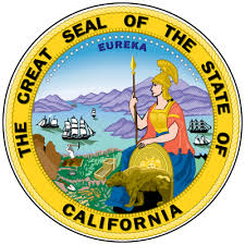 Seal of the state of California, online poker