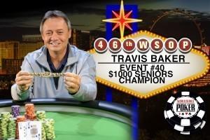 Travis Baker WSOP Seniors Event