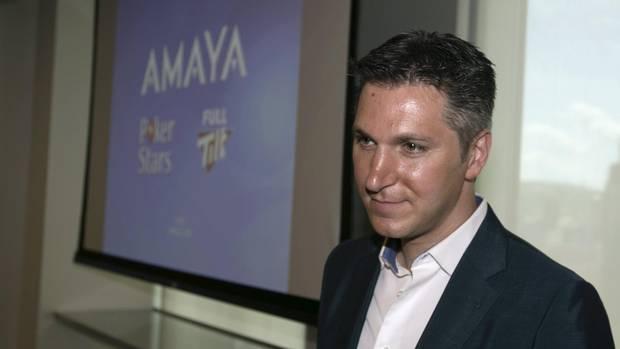 Amaya David Baazov Nasdaq stock price