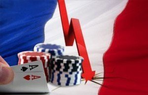 French online gambling poker decline tax rates