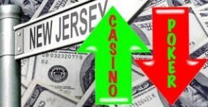 New Jersey online poker DGE revenues