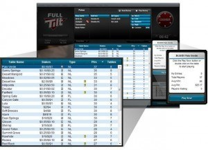 Full Tilt cash games heads-up